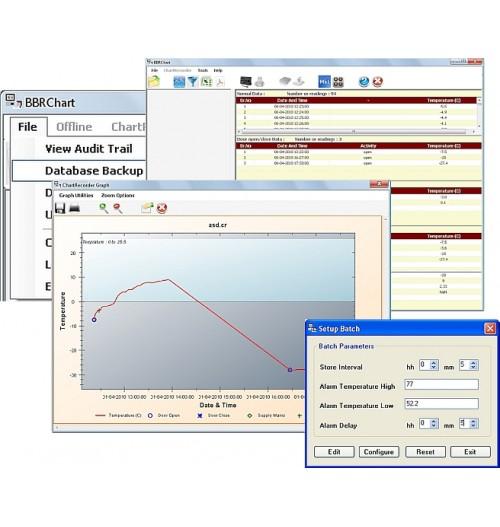 Data Logging BBR Chart Recorder