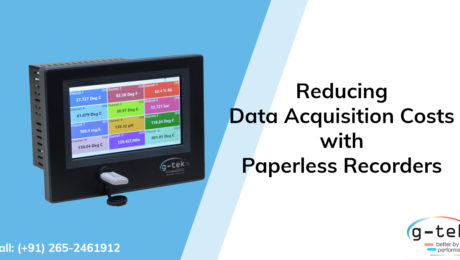 Reducing data acquisition costs with Paperless recorders-Gtek Corporation