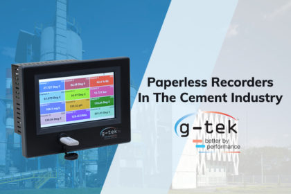 Paperless Recorders In The Cement Industry-G-Tek Corporation Pvt Ltd