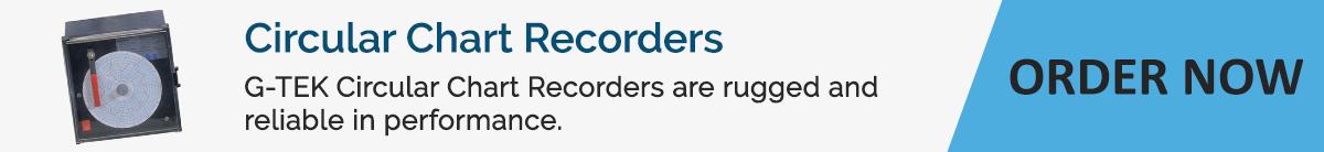 Order Circular Chart Recorders-G-Tek Corporation