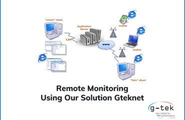 Remote Monitoring Using Our Solution Gteknet-G-Tek Corporation India