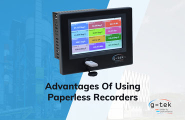 Advantages of Using Paperless Recorders-G-Tek Corporation Pvt Ltd