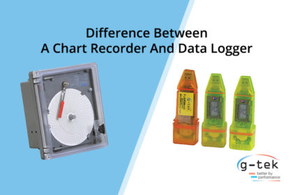 Difference Between A Chart Recorder And Data Logger