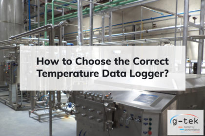 Choose the Correct Temperature Data Logger-G-Tek Corporation pvt ltd