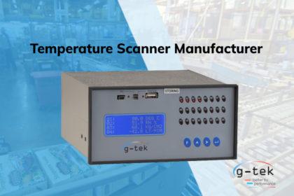 Temperature Scanner Manufacturer-G-Tek Corporation Pvt Ltd