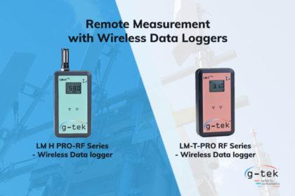 Remote Measurement with Wireless Data Loggers-G-Tek Corporation Pvt Ltd