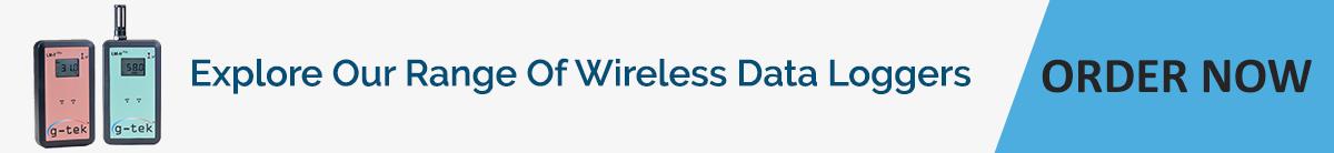 Range of Wireless Data Loggers-G-Tek Corporation