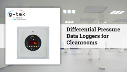 Differential Pressure Data Loggers for Cleanrooms