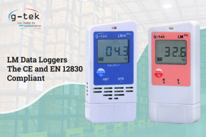 LM Data loggers the CE and EN 12830 compliant -G-Tek Corporation Pvt Ltd