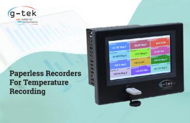 Paperless Recorders For Temperature Recording-G-Tek Corporation Pvt Ltd